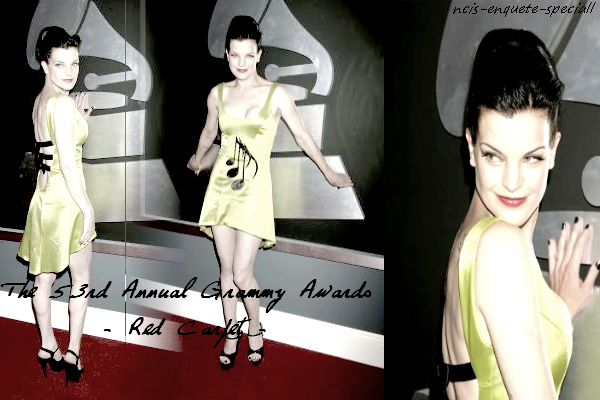 Pauley Perrette : The 53rd Annual Grammy Awards - 13/02/2011