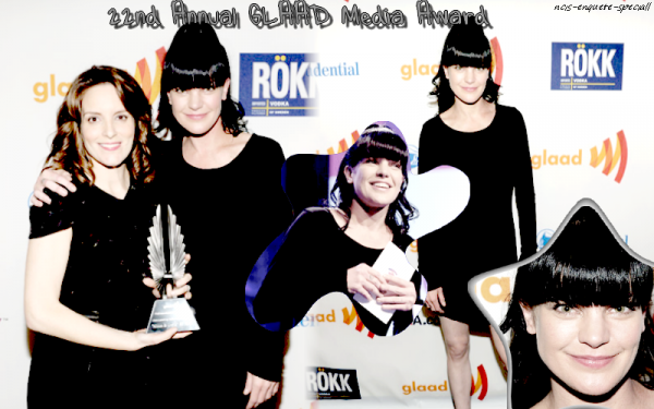Pauley Perrette :22nd Annual GLAAD Media Award - 13 mars 2011 -