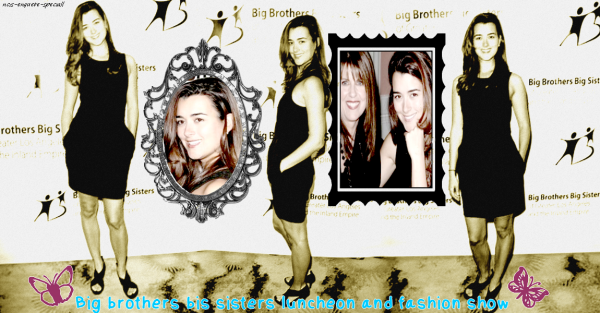 Cote de Pablo : Big Brothers Big Sisters Luncheon And Fashion Show - 25/03/2011