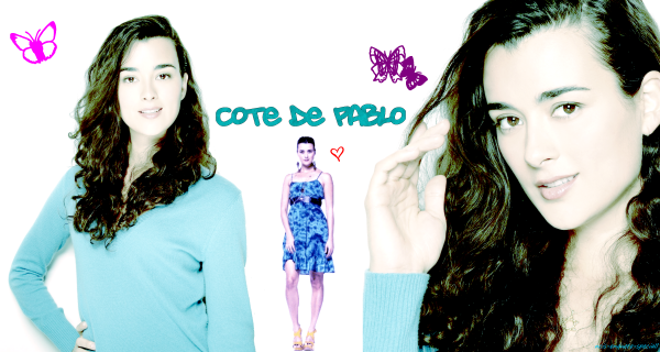 Cote de Pablo : Intension de vote pour le magazine GLAMOUR