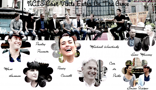NCIS Cast Visits Extra On The Grove - 16/04/2011