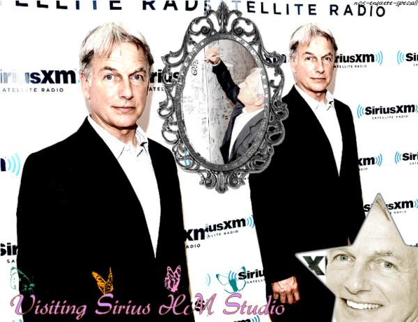 Mark Harmon : Visiting Sirius XM Studio - 10/05/2011