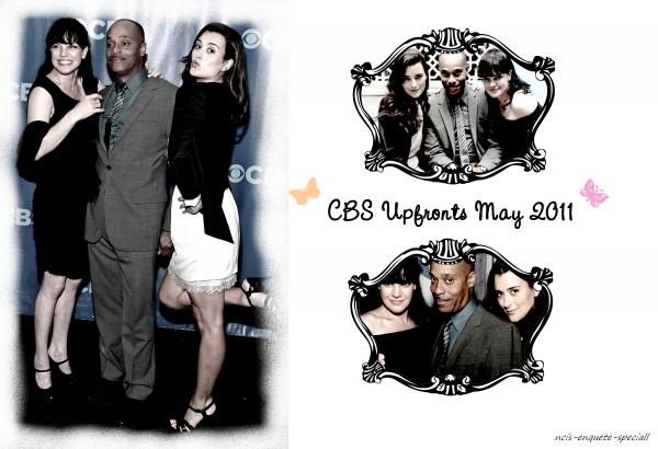 Cote de Pablo, Pauley Perrette & Rocky Carroll : CBS Upfronts - 18/05/2011