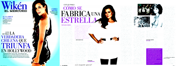 Cote de Pablo : El Mercurio Magazine - 13/05/2011