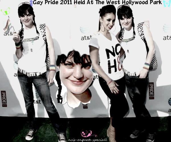 Pauley Perrette : Gay Pride 2011 Held At The West Hollywood Park - 12/06/2011