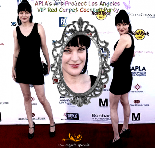 Pauley Perrette : APLA's Art Project Los Angeles VIP Red Carpet Cocktail Party - 25/06/2011
