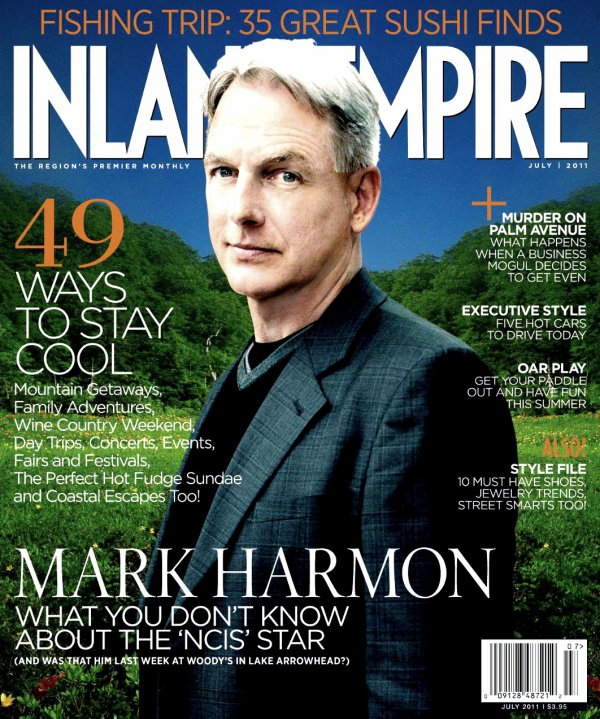 Articles de presse : Mark Harmon Pauley Perrette - Juillet 2011