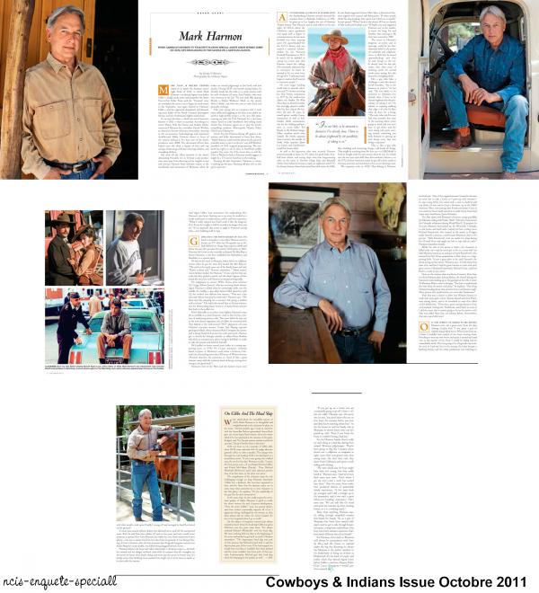 Articles de presse : Team, Pauley Perrette & Mark Harmon