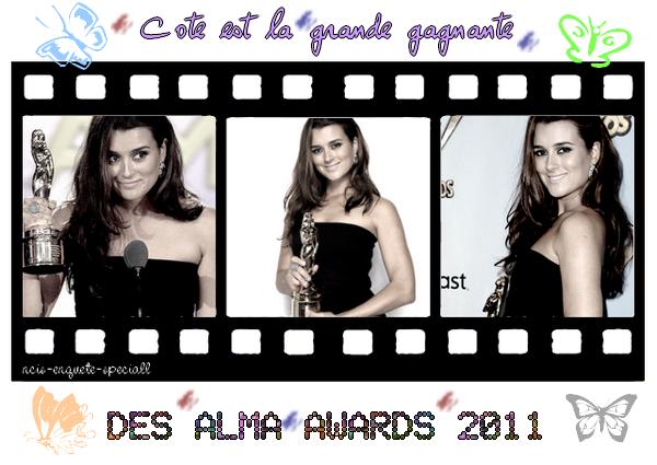 Cote de Pablo : 2011 NCLR ALMA AWARDS - 09/10/2011