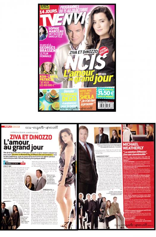 Team - Article de presse - TV Envie 15 au 28 Octobre 2011