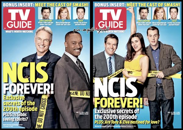 Articles de presse : TV Guide Magazine du 23 Janvier au 5 Février 2012