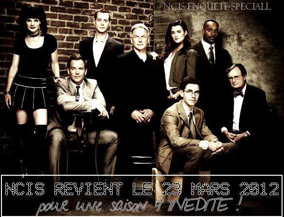 NCIS : Diffusion en France de la saison 9 / Hommage .