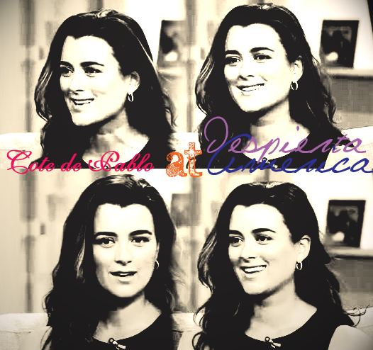 "Cote de Pablo : Interview on ""Despierta America"" - 26/03/2012"