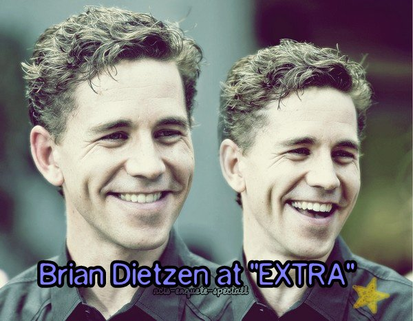 """Brian Dietzen : Interview sur """"EXTRA"""" - 15/08/2012"""