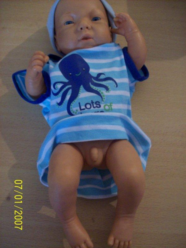 Bébé lucas en cours
