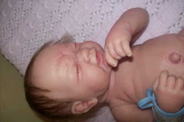 Rooting de bébé Nathan in progress