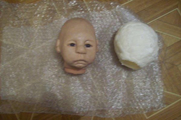 Bébé Lucas sera tiré en silicone platinium