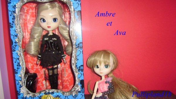 Ava et Ambre