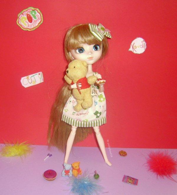Voici la photo pour le concours de cookie-dolls