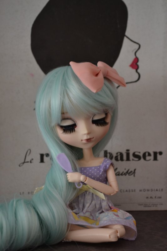♥Ma septième pullip♥Carry♥pullip Classical White Rabbit♥