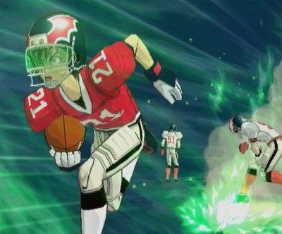 Eyeshield avec le devil bats ghost