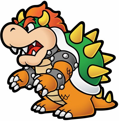 Bowser Welcom On Personnagesxmario