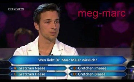 Qui est dans toutes les pensés de Marc Meier?