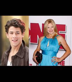Nick Jonas : Son dîner nocturne avec Megan Hilty