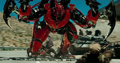 Les autobots du film Transformers DOTM