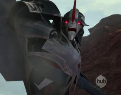 Photo de Starscream dans TF Prime effrayer