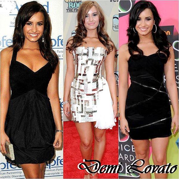 Quel robe courte de la magnifique Lovato préfère tu ?