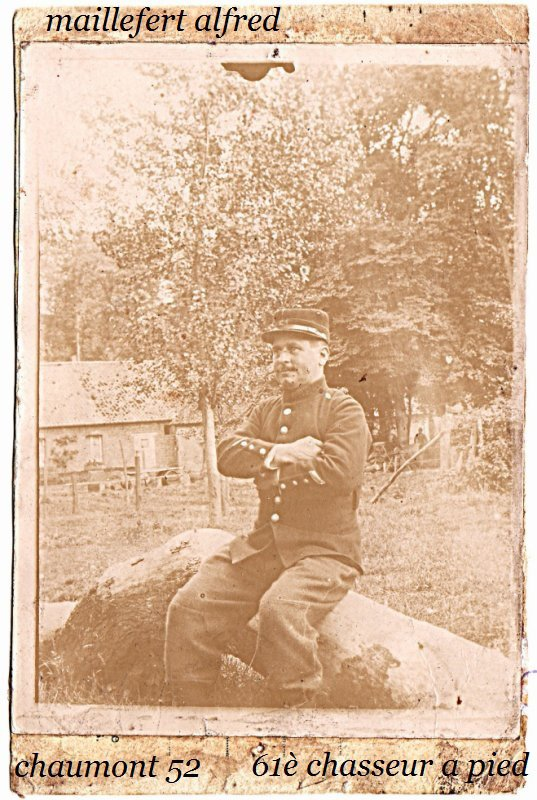 mon grand pere photo prise a   BIACHES 80 somme