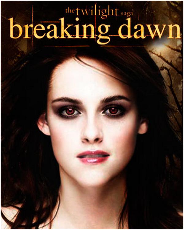__ MON AVIS SUR LE LIVRE BREAKING DAWN ...   Oui il faut bien que je vous donne un avis sur ce livre non ? enfin voila bonne lecture . __ Breaking Dawn est le livre que j'adore je mis suis prise comme jamais des les première ligne je n'est plus sue me détacher de ce livre je les lue la première fois en 2 jours je dit '' je les lue la premier fois '' car je les lue plusieurs fois enfin voila il ma super plus . J'ai surtout hâte de voir Bella en vampires, son pouvoir, l'accouchement de Bella, les noces de Bella et Edward, Bella qui gueule sur Jacob car Jacob appelle Renesmee '' Nessi '' pour la première fois, l'imprégnation de Jacob pour Renesmee, est bien d'autre est toi quels est le passage que tu aime. ( idée d'article par Life-in-Edward ) __