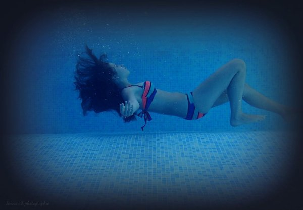 I can leave underwater...