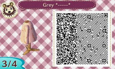 ACNL QRCODE Grey Fairy Tail