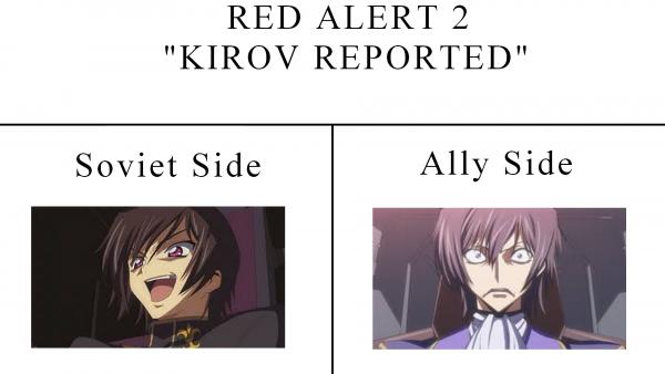 Kirov reporting!