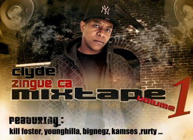 MIXTAPE ZINGUE CA / CLYDE FEAT MOJO - J'ARGUMENTE - REDAIprod (2010)