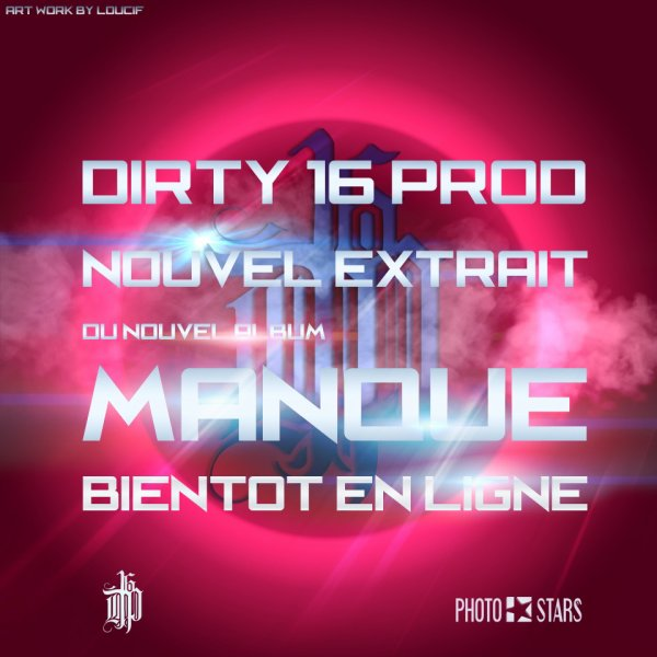 !! MANQUE !! LE 2EME EXTRAIT DU NOUVEL ALBUM BIENTOT EN LIGNE !! ARTWORK BY PHOTOSTARS !!