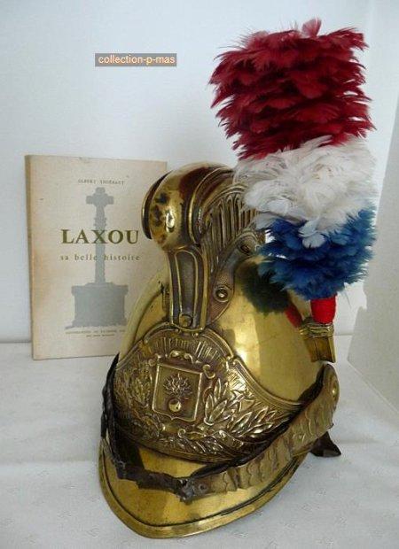 CASQUE MODELE 1855 modifié 1872 VILLE DE LAXOU