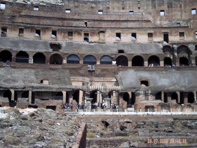Italie: le colisée