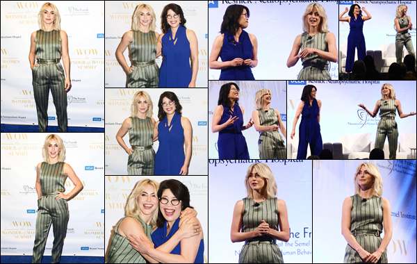 - ''•-11/04/19-'  Julianne Hough était présente lors du « UCLA The Wonder Of Women Summit », à Los Angeles CA. C'est le sourire aux lèvres que l'actrice posait devant les photographes présents. Je lui accorde un grand top pour sa tenue et sa mise en beauté et vous ? -