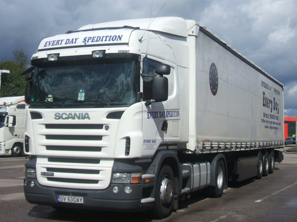 scania spedition every day