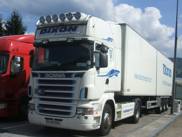 SCANIA TRANSPORT DIXON