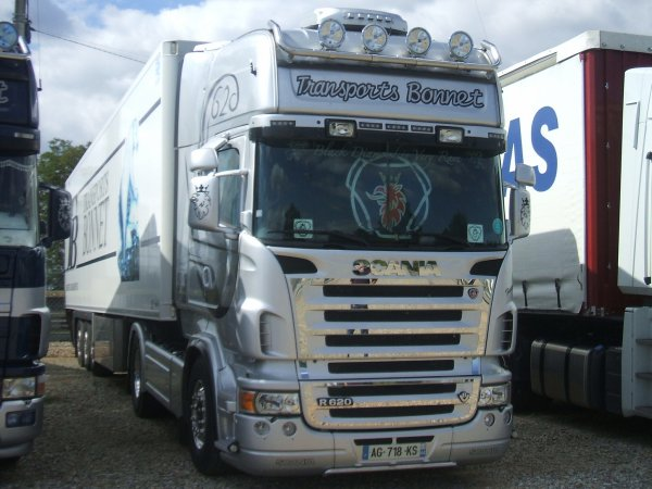 SCANIA TOPLINE DES TRANSPORTS BONNET