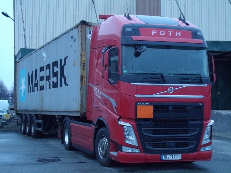VOLVO FH 4 TRANSPORT POTH