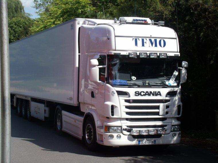 SUR LA ROUTE DE MON RELAIS SCANIA TOPLINE TRANSPORT TFMO