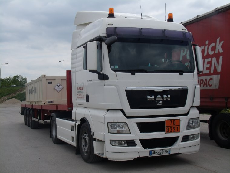 MAN TGA TRANSPORT