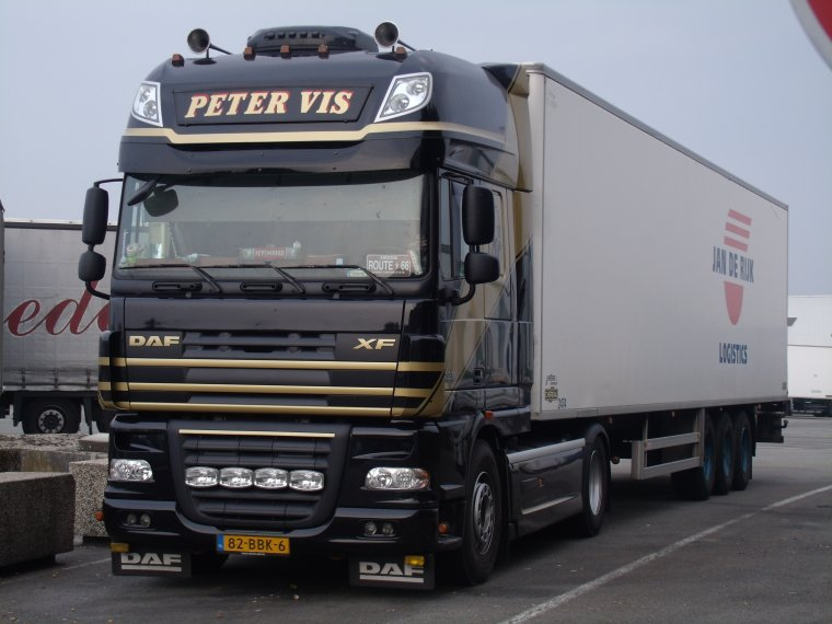DAF XF 105 TRANSPORT PETER VIS