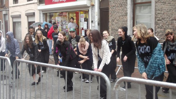 démo street danse à la Saint-Jean