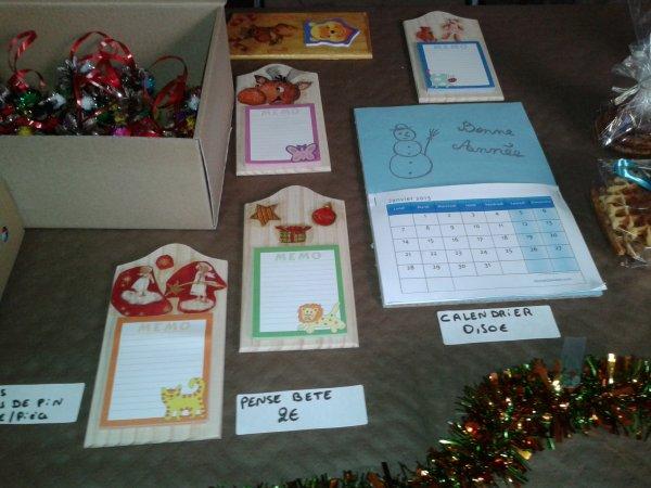 Marché de Noël 14 et 15 décembre 2012